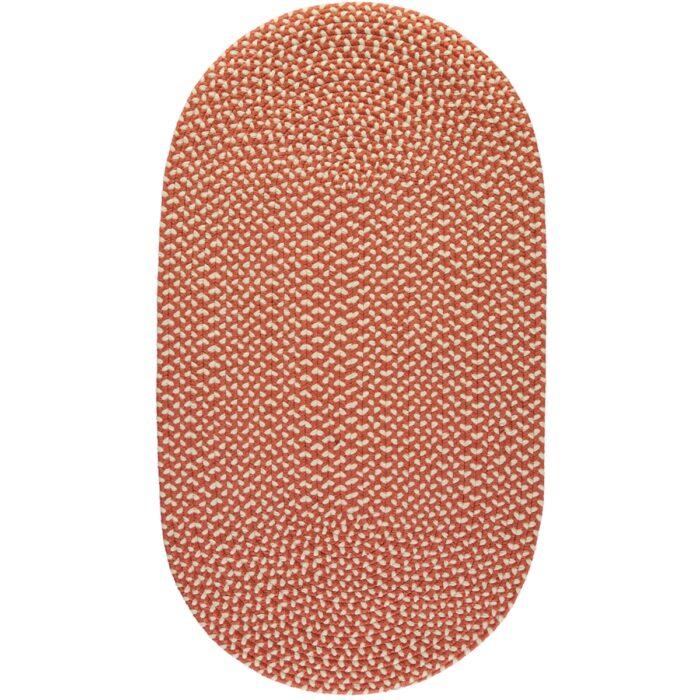 Paprika Eco Braided Rugs