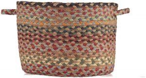 Misty Blue Organic Jute Baskets