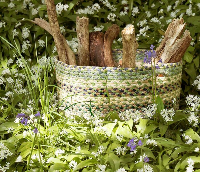 Mint Organic Jute Basket