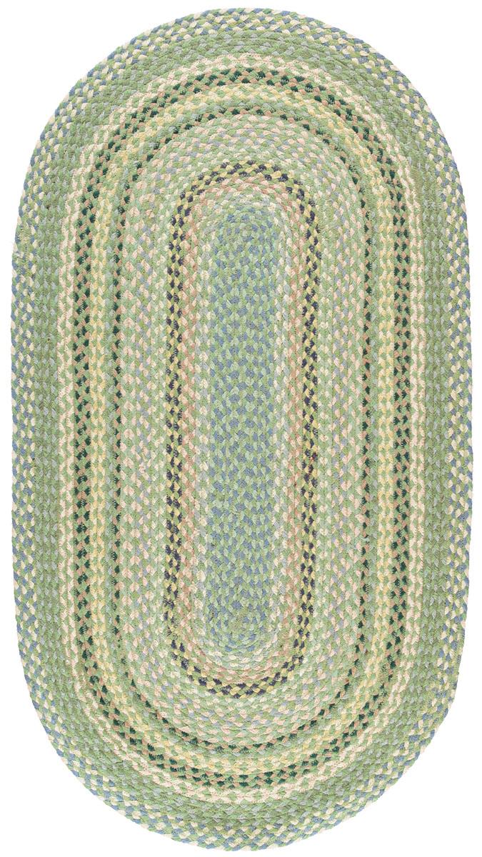 Mint Oval Organic Jute Rugs