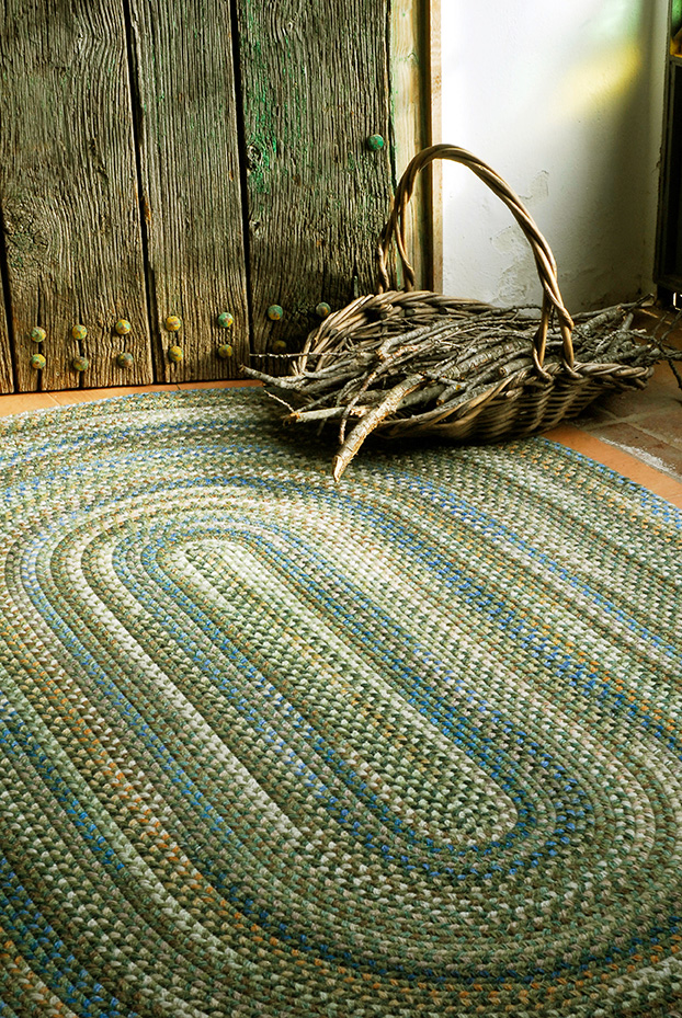 Pine Forest American Braided Rug
