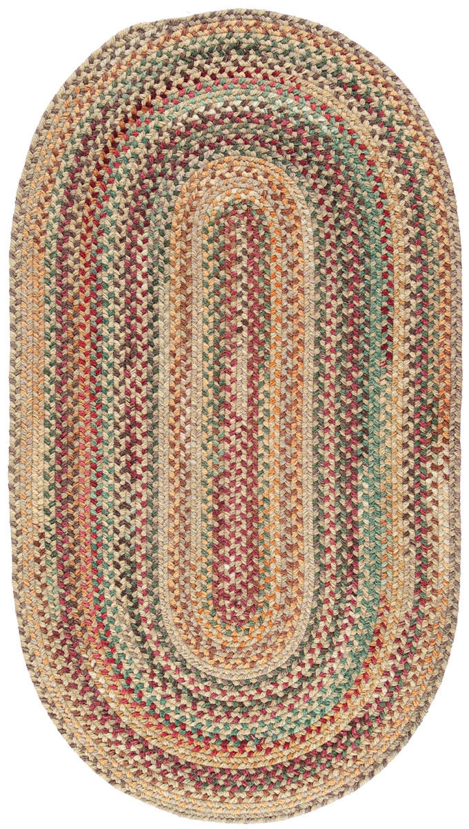 Russet American Braided Rugs