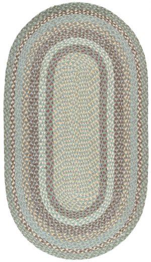 Seaspray Oval Organic Jute Rugs