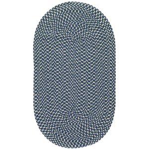 Navy Eco Braided Rugs