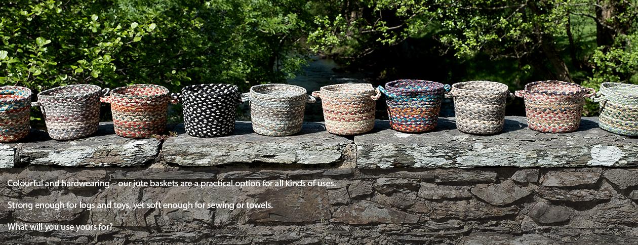 Organic Jute Baskets