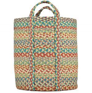 Slouchy Carnival Organic Jute Baskets
