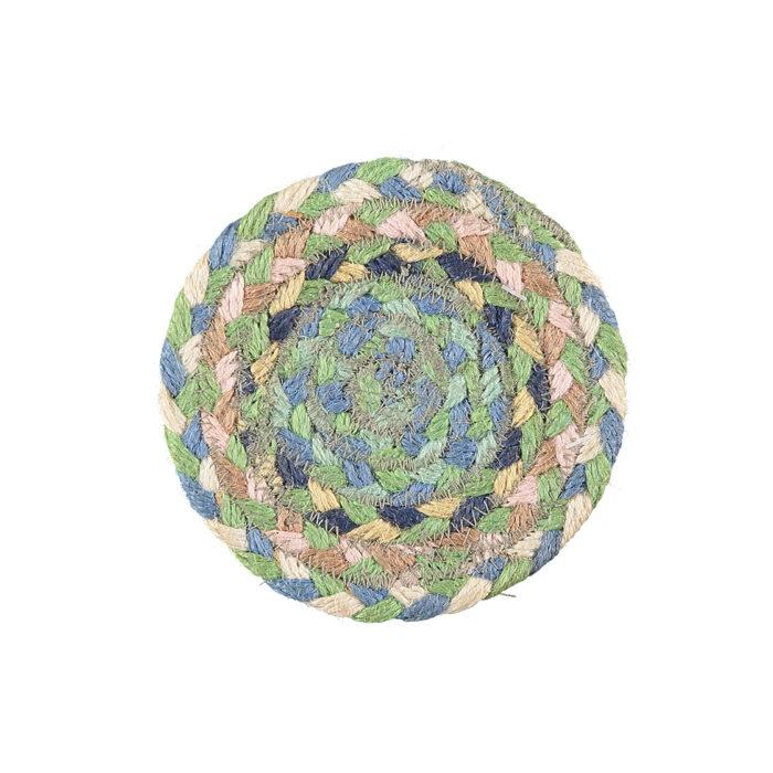 Mint Organic Jute Coasters