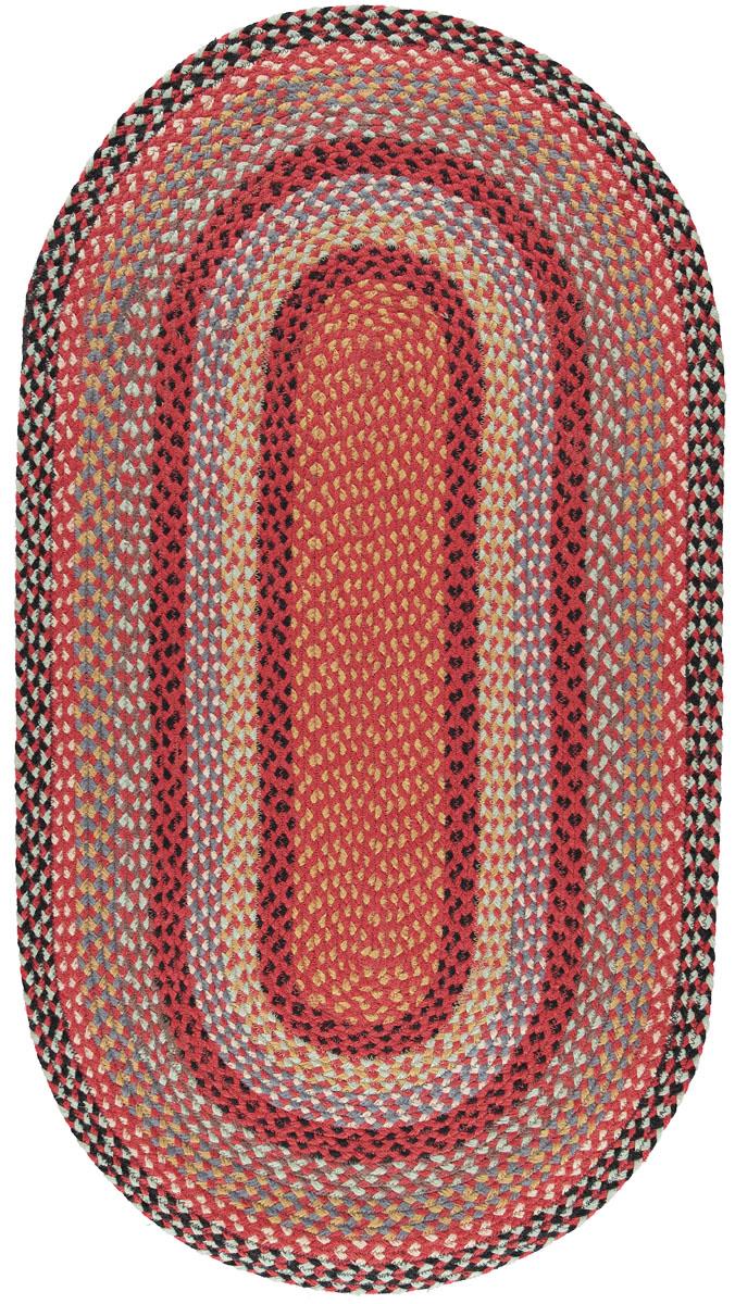 Chilli Oval Organic Jute Rugs