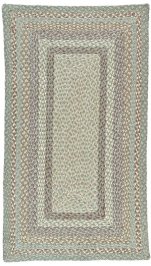 Seaspray Rectangle Organic Jute Rugs