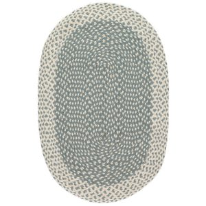Thistle Oval Organic Jute Rugs