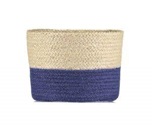 Calypso Blue Wave Organic Jute Baskets