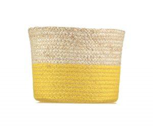 Calypso Daffodil Organic Jute Baskets