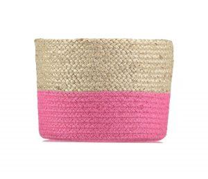 Calypso Magenta Organic Jute Baskets