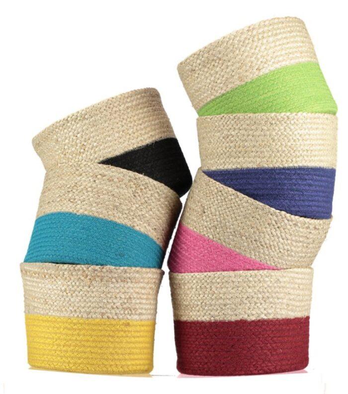Calypso Organic Jute Baskets
