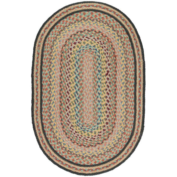 Kashmir Oval Organic Jute Rugs