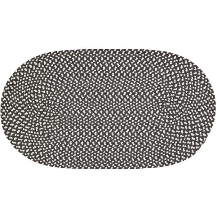 Soot -eco-braided-rug