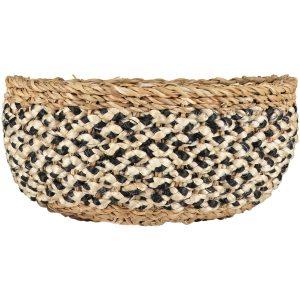 Village Casserole Basket Black