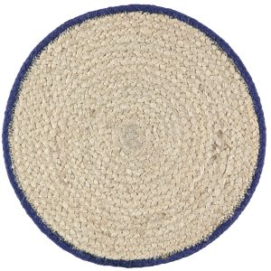 Blue Wave Organic Jute Placemats