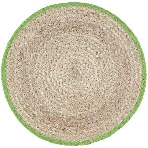 Lime Organic Jute Placemats