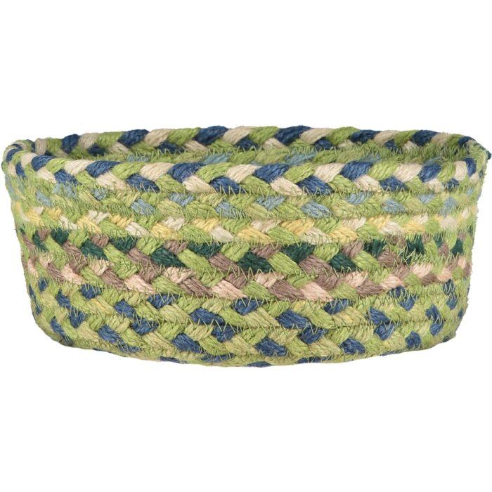 Mint Organic Jute Mini Basket
