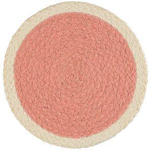 Rose Organic Jute Placemat