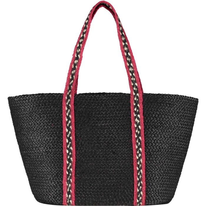 Winter Red/Black Long Handle Tote