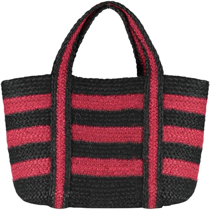 Trade Winter Red/Black Short Handle Tote